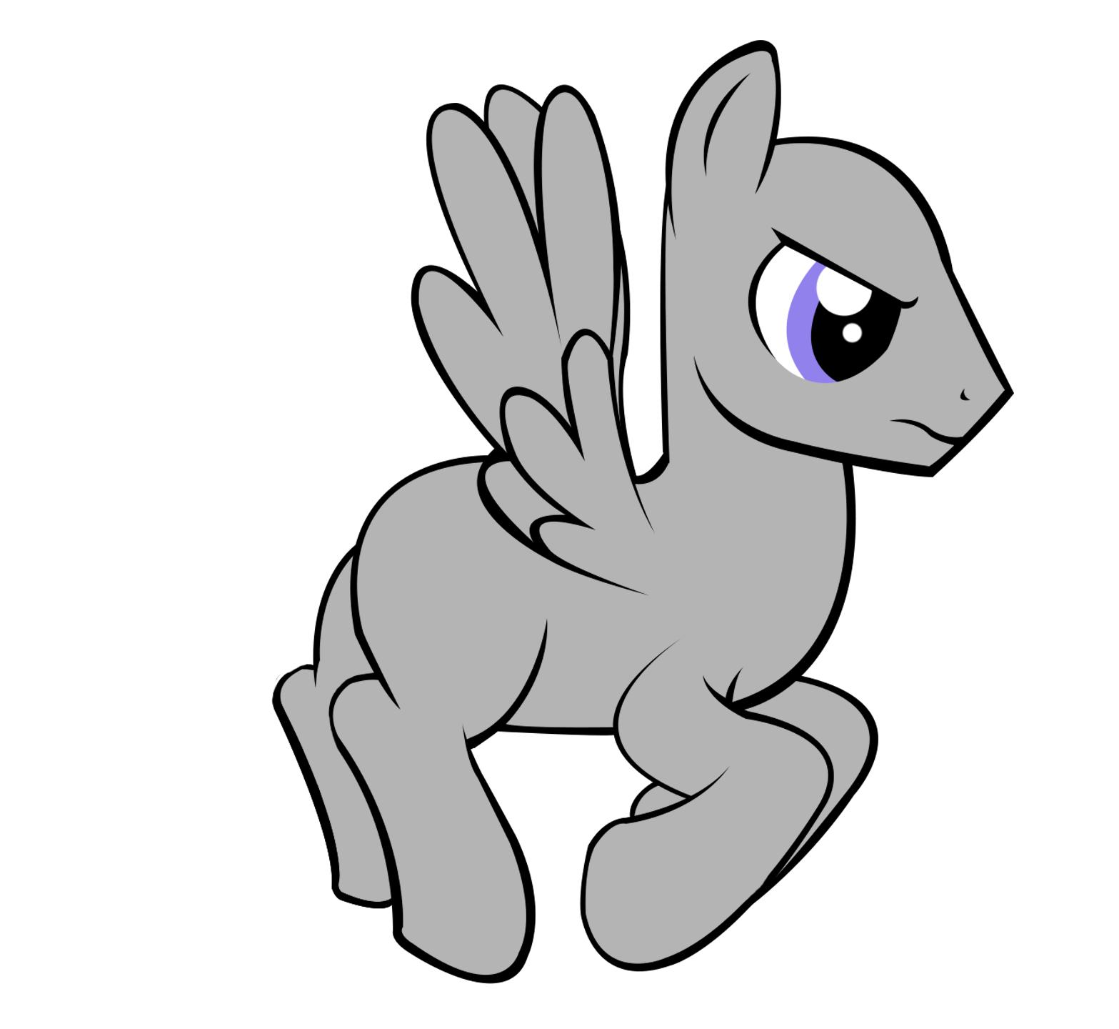 Drawn my little pony base male Little My Male Base Pony
