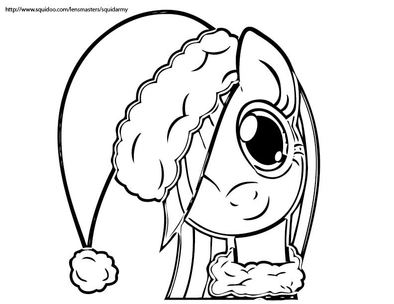Drawn my little pony black and white Download christmas Little Little christmas