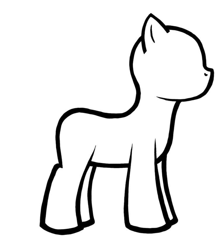 Drawn my little pony blank Pony Pinterest Pinterest Twilight on