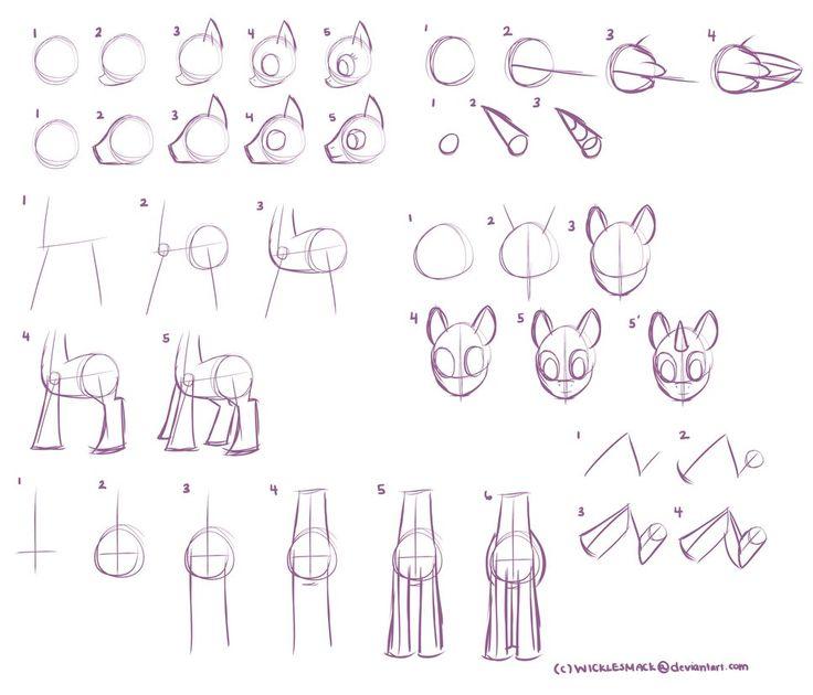 Drawn my little pony body MLP Pinterest poses 22 body