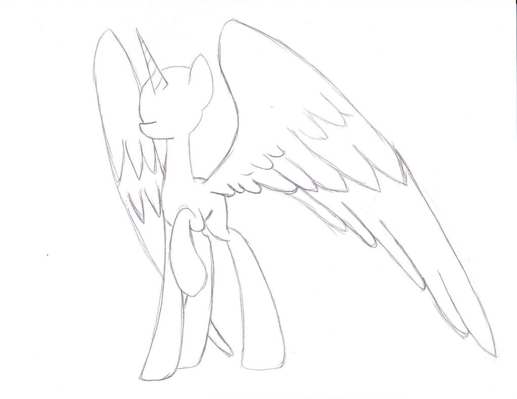 Drawn my little pony body And drawing to body Craft