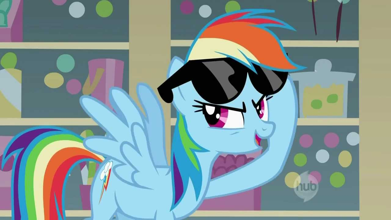 Drawn my little pony boss A Rainbow Like Dash PMV: