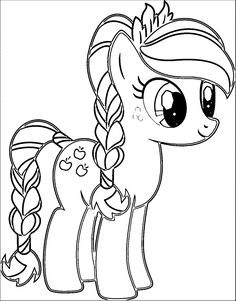 Drawn my little pony cartoon Search My My Pony Coloring