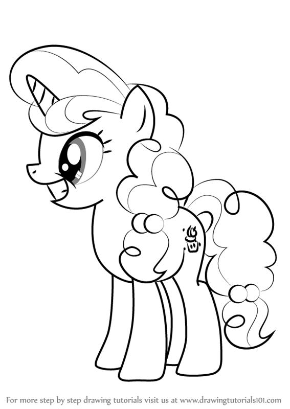 Drawn my little pony cartoon Sugar Is Little Pony Draw