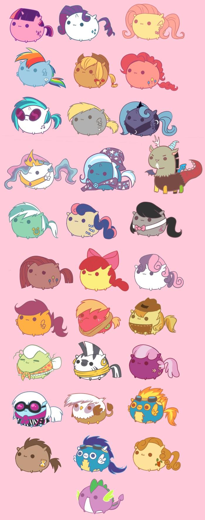 Drawn my little pony cat Little is friendship pony is