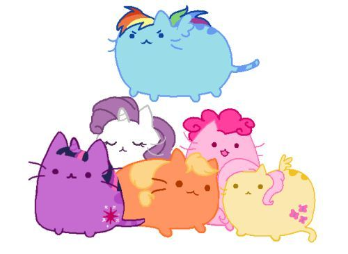 Drawn my little pony cat Stickers more Little Pin Pinterest
