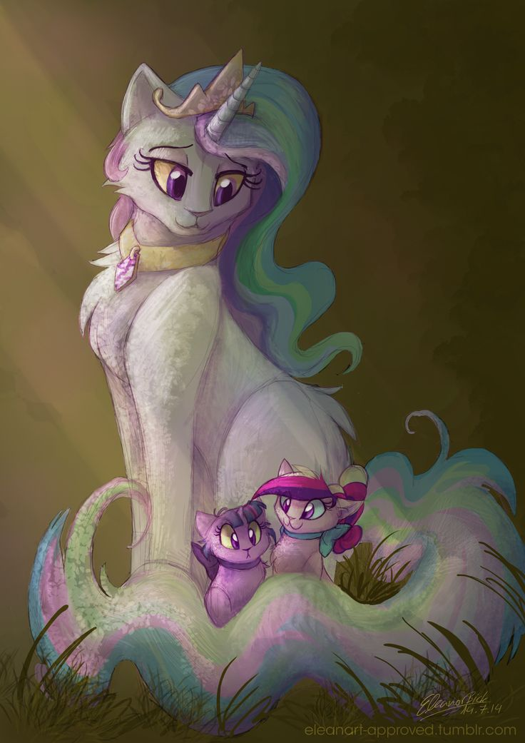 Drawn my little pony cat On Pony it about really