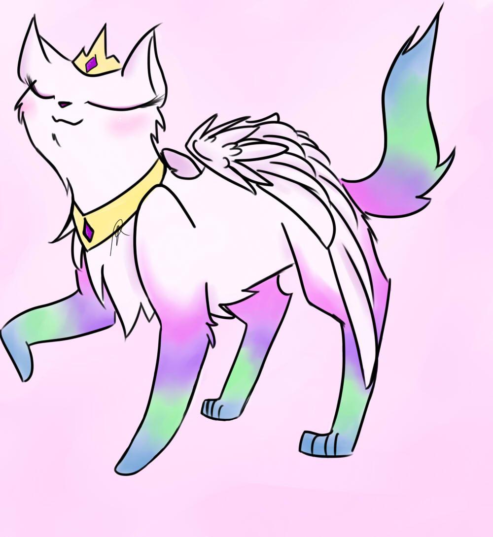 Drawn my little pony cat Pony invite my only yay!(