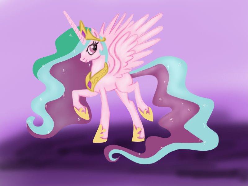Drawn my little pony celestia Friendship My Is Princess Pony