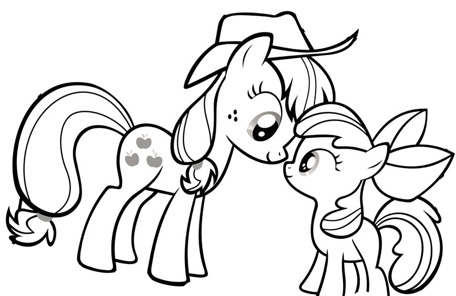 Drawn my little pony coloring book Coloring Is My Printable ponies