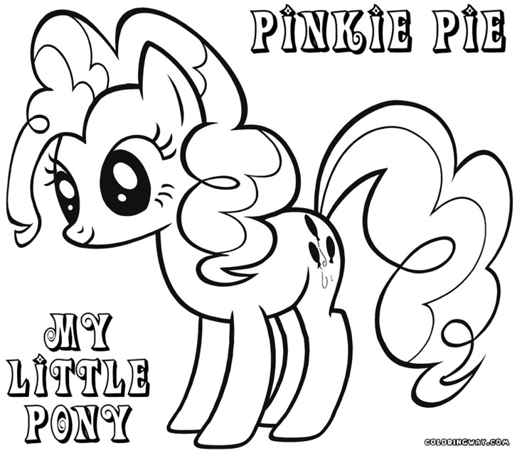 Drawn my little pony coloring book For Little 21634colouring Coloring Pages
