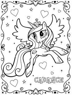 Drawn my little pony coloring book  Printable grown Coloring pony