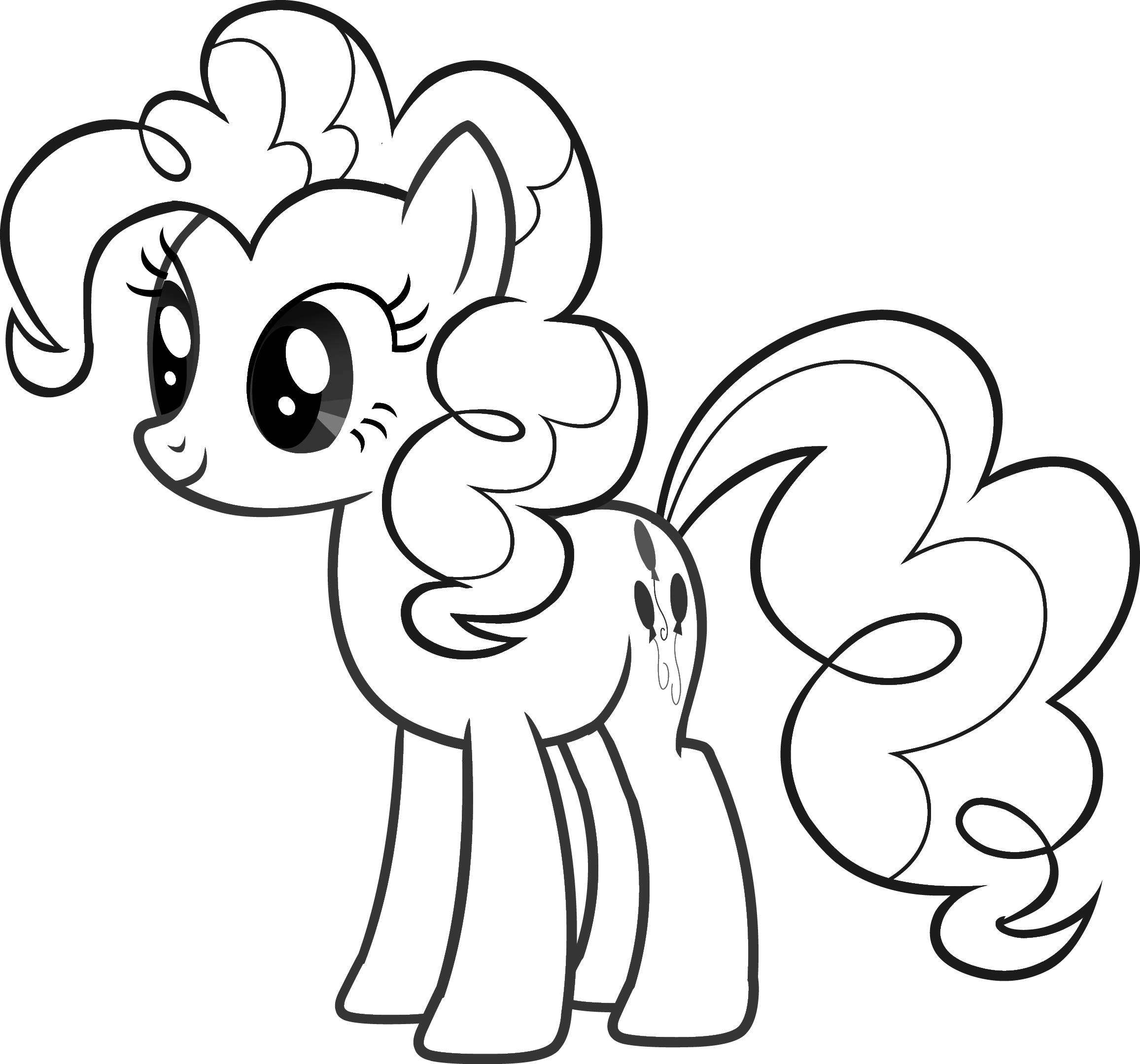 Drawn my little pony coloring book For Pony Free Pages Pony