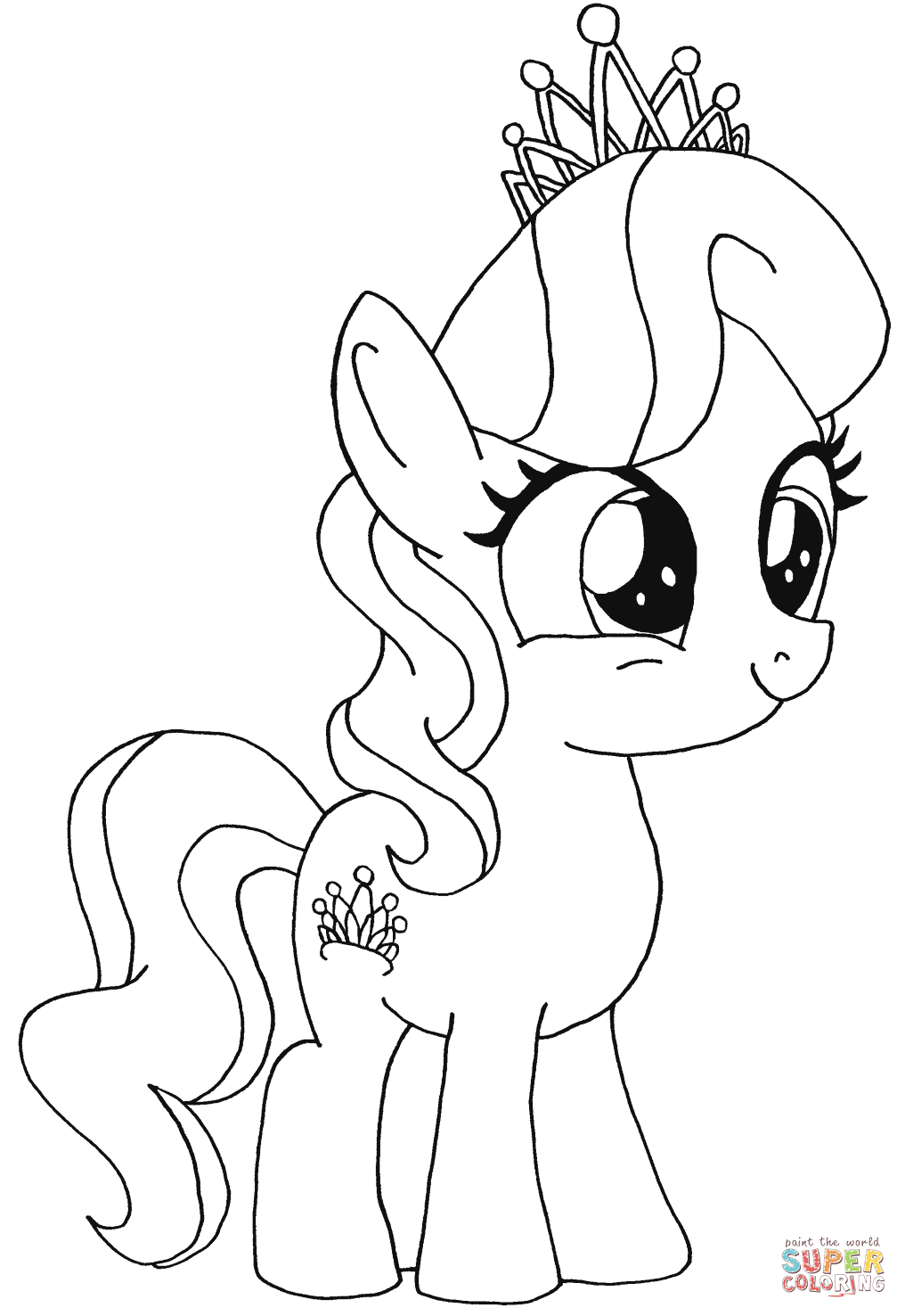 My Little Pony clipart coloring book My Free Little coloring Little