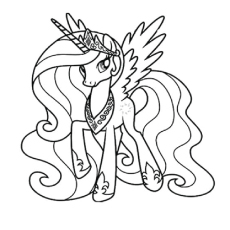 Drawn my little pony colouring picture 'My Your  Will Pages