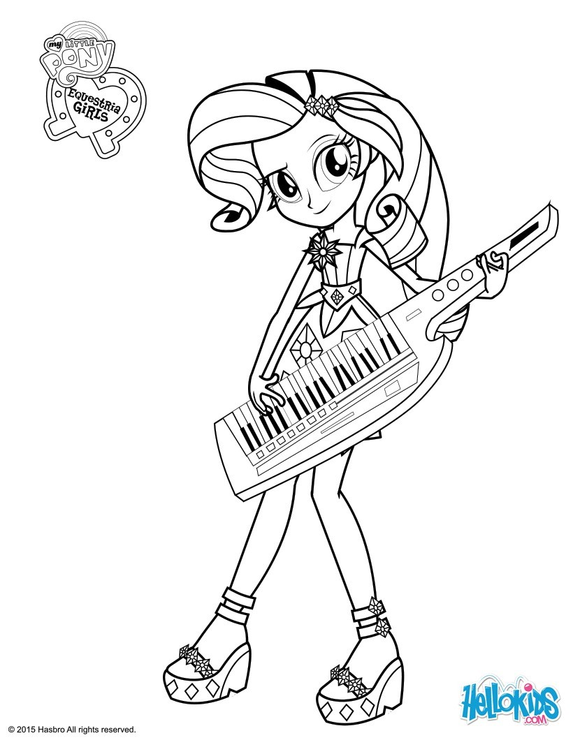 Drawn my little pony colouring picture Favorite coloring coloring TV