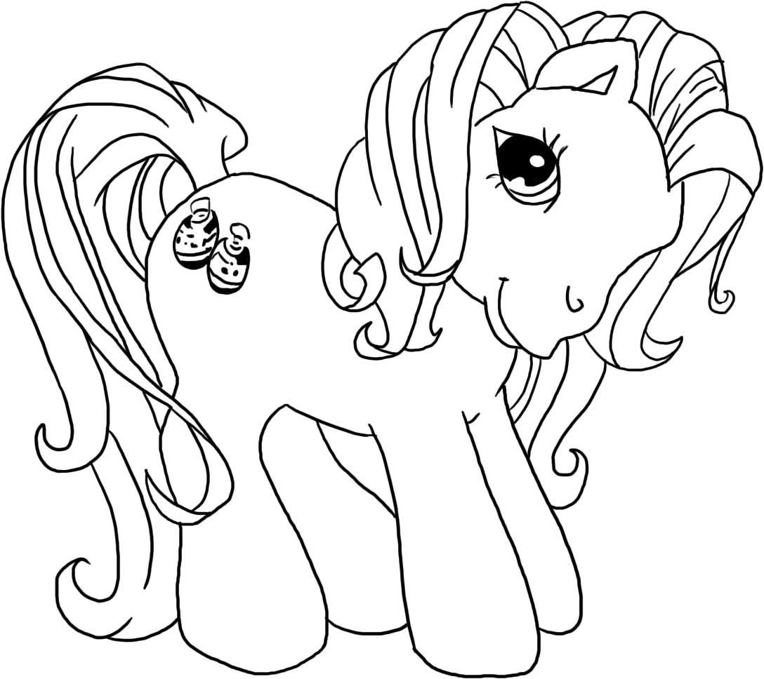 Drawn my little pony colouring picture Kids Pony My Hub Pony