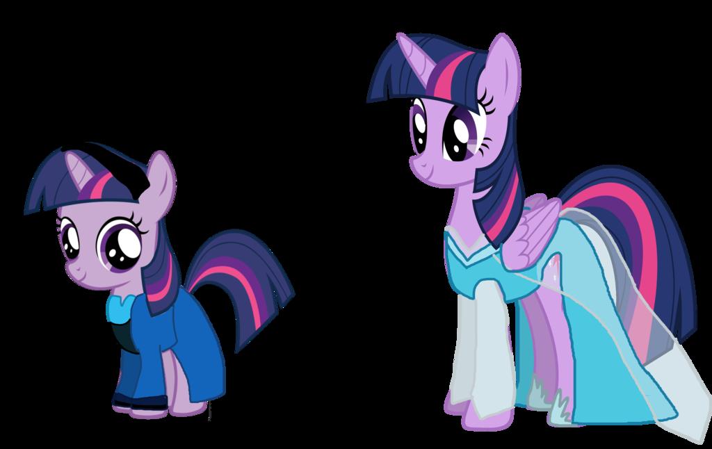 Drawn my little pony crossover Twilight Sparkle more My Elsa