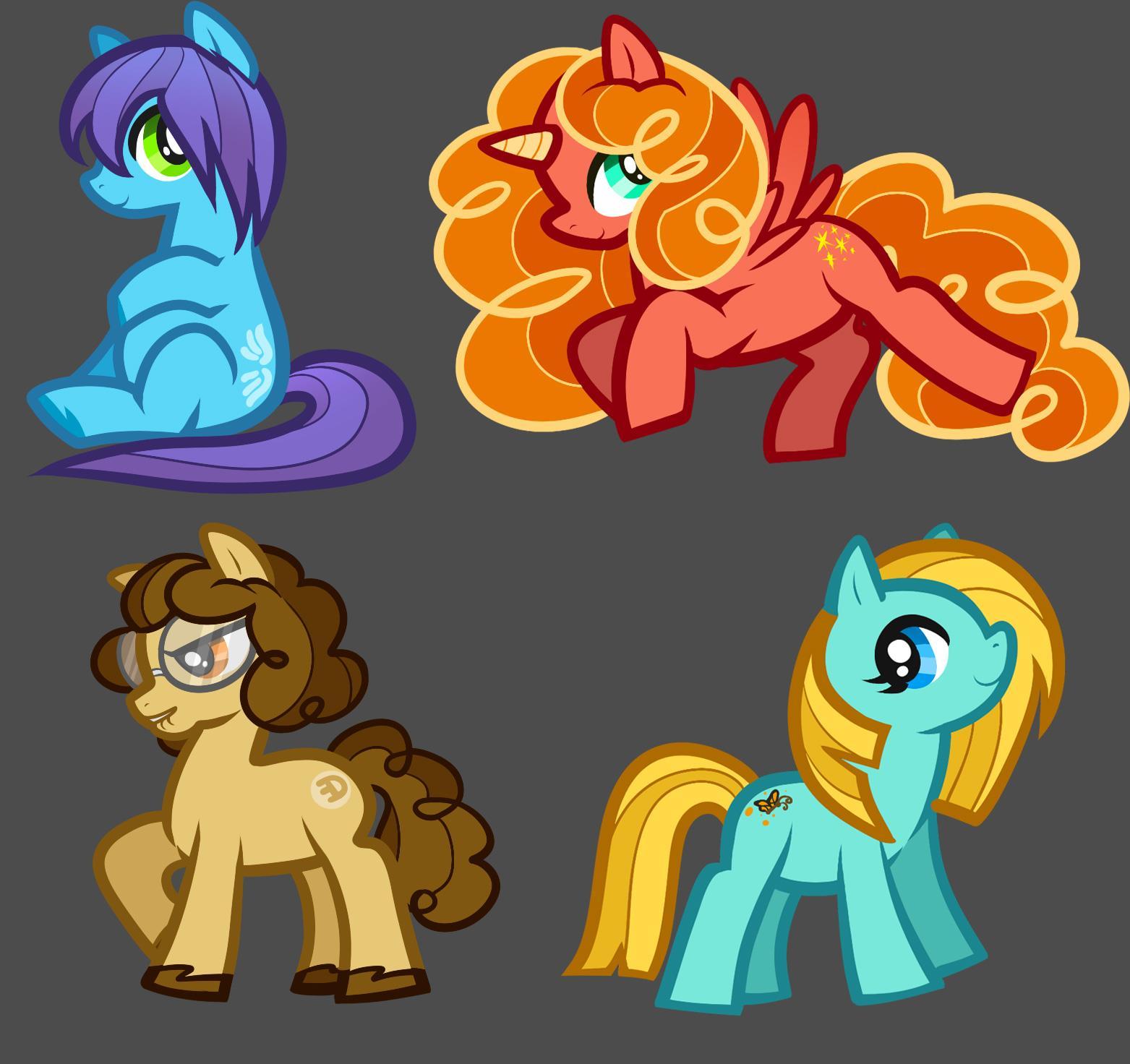 Drawn my little pony custom Ponies by on Pony Ponies