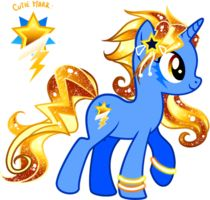 Drawn my little pony custom By Crystal  Pony of