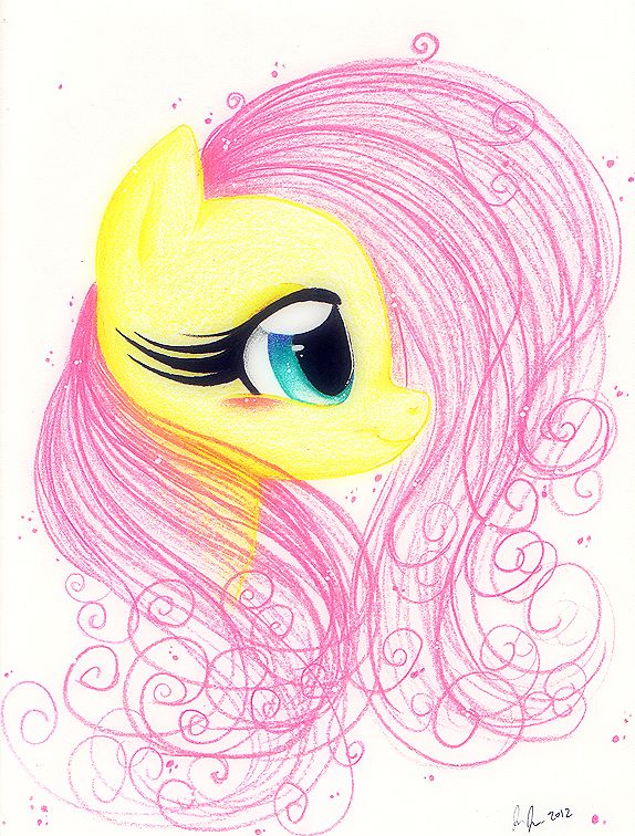 Drawn my little pony cute @DeviantArt ideas Fluttershy by PrettyPinkP0ny