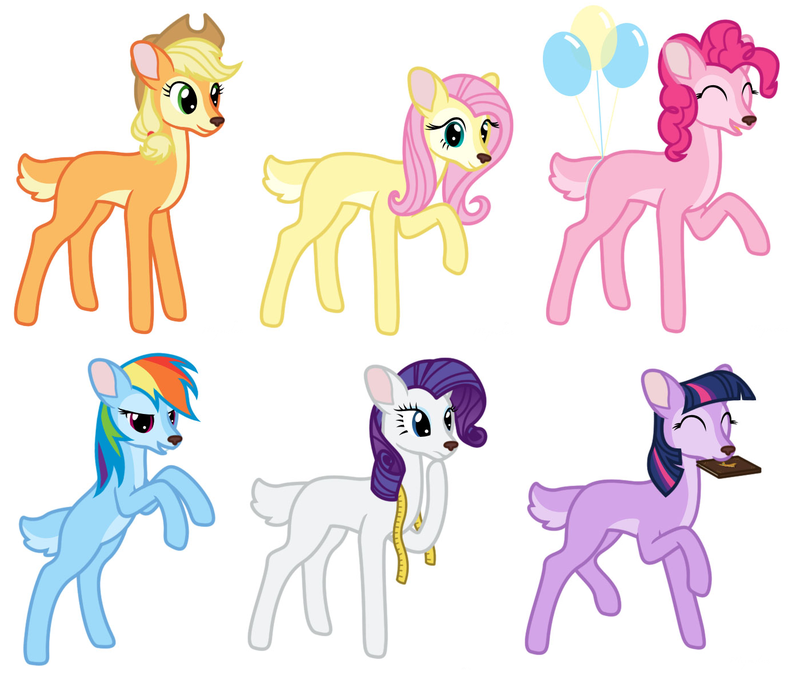 Drawn my little pony deer My Deers Little 153 they