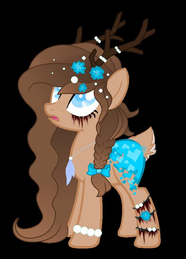 Drawn my little pony deer MS Friendly! Paint Mystyeria Pony