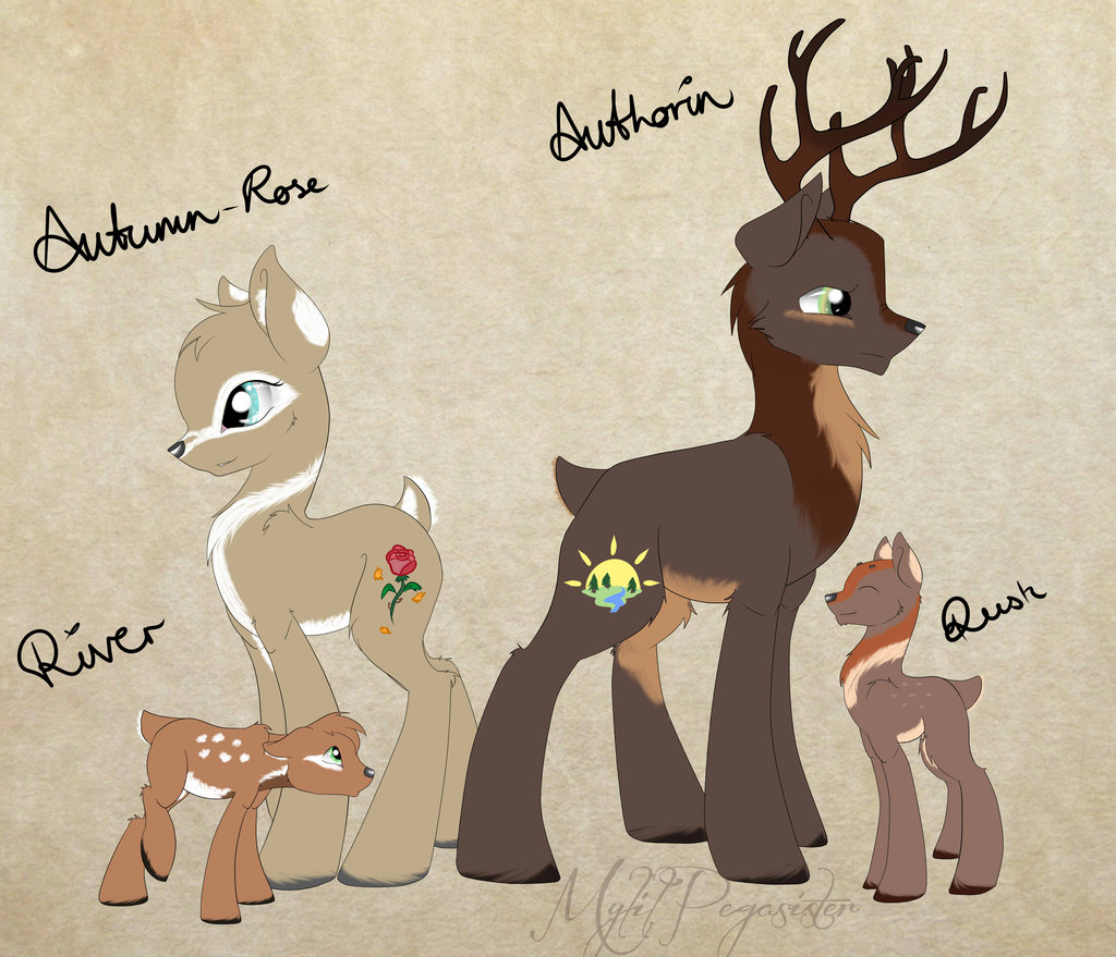 Drawn my little pony deer MyLilPegasister DeviantArt on family MyLilPegasister