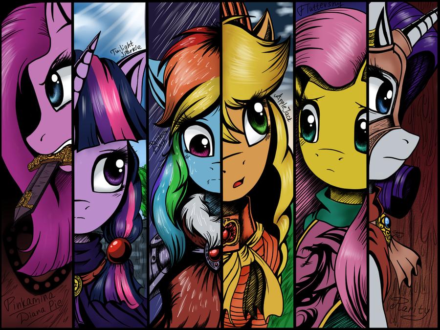 Drawn my little pony deviantart Pony: : little by little
