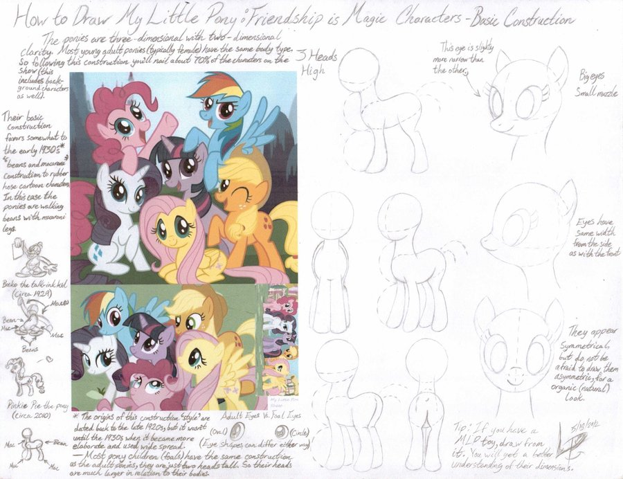 Drawn my little pony deviantart Deviantart com com FIM