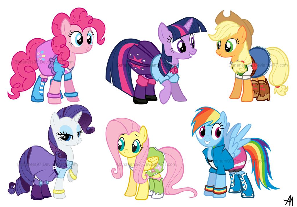 Drawn my little pony deviantart Little Girls My Girls Little