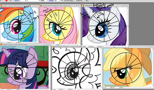 Drawn my little pony different How My Testing size) Draw