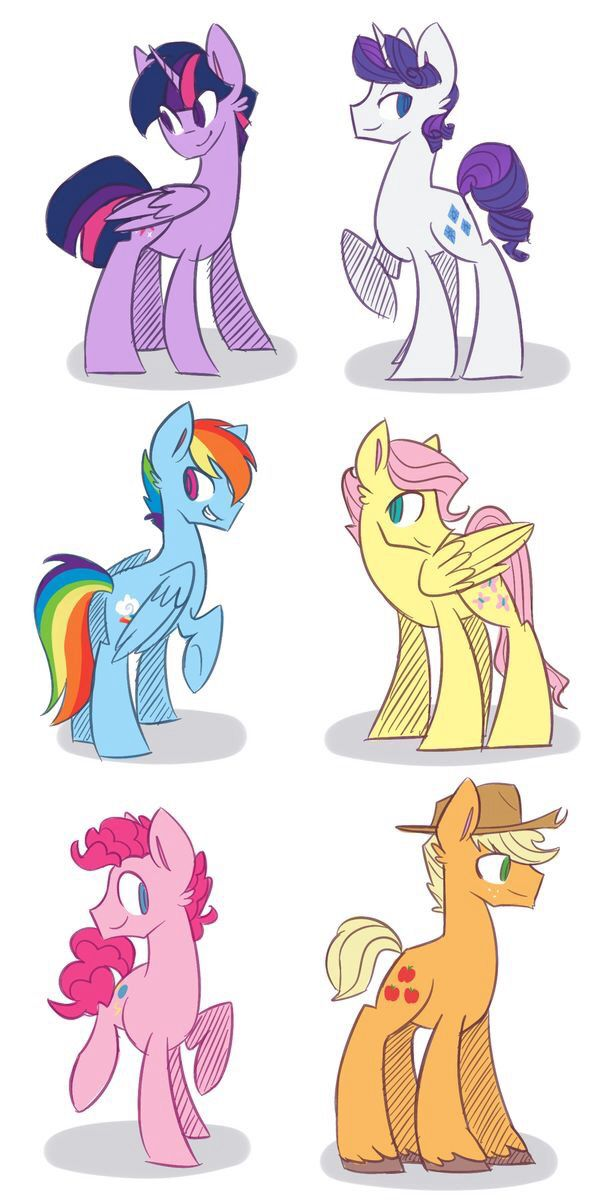 Drawn my little pony different Images on Find My pony