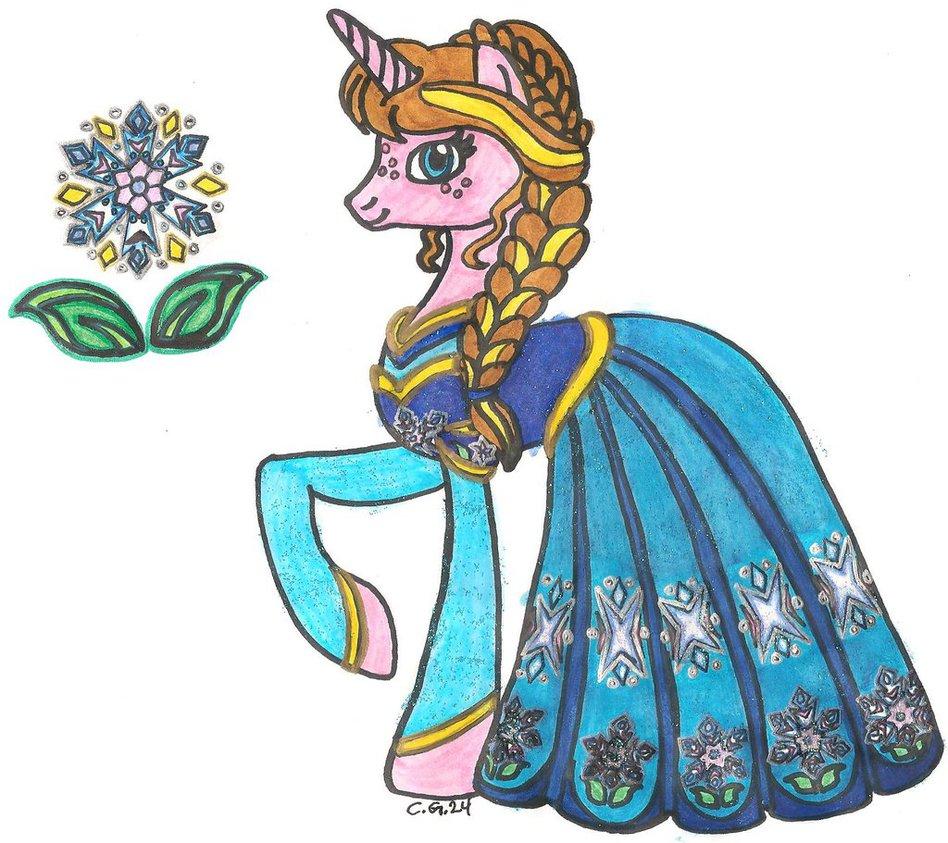 Drawn my little pony disney FiM on Disney CooperGal24 Princess