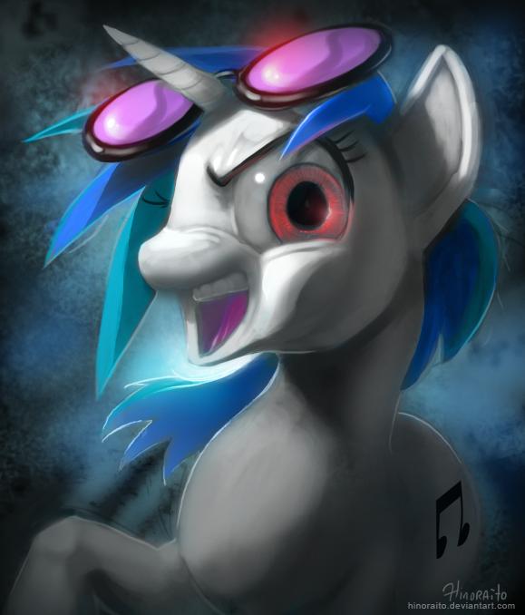Drawn my little pony dj pon3 Scratch pon3 more drawing Dj