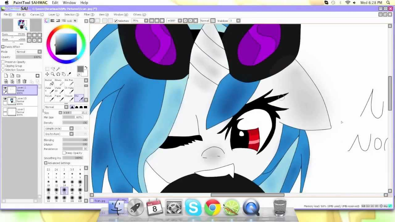 Drawn my little pony dj pon3 FiM] PON3) YouTube [My Vinyl