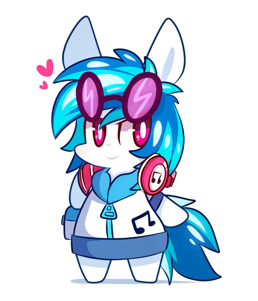 Drawn my little pony dj pon3 Is Your pon Magic Little