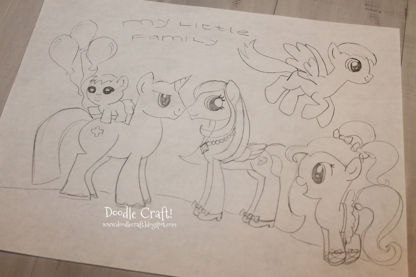 Drawn paper mlp DRAW other Great and banners