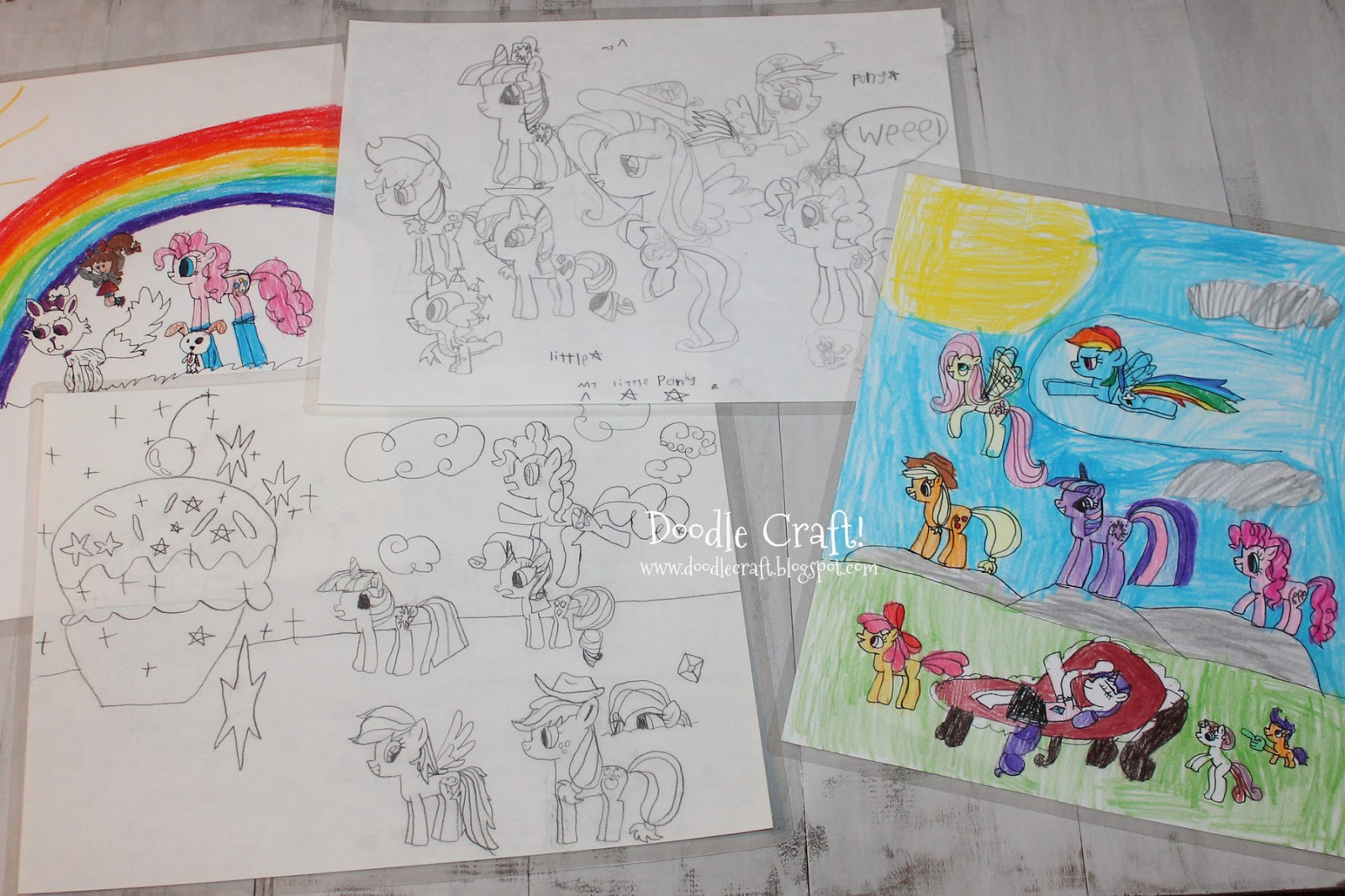 Drawn paper mlp Little Doodlecraft: Design My Little