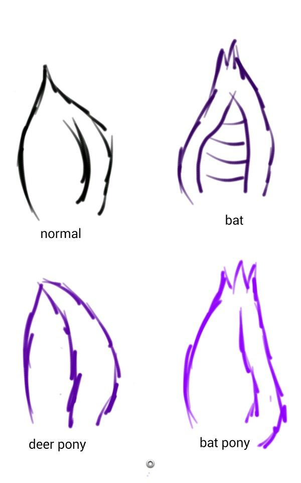 Drawn my little pony ear Styles about Pony on best