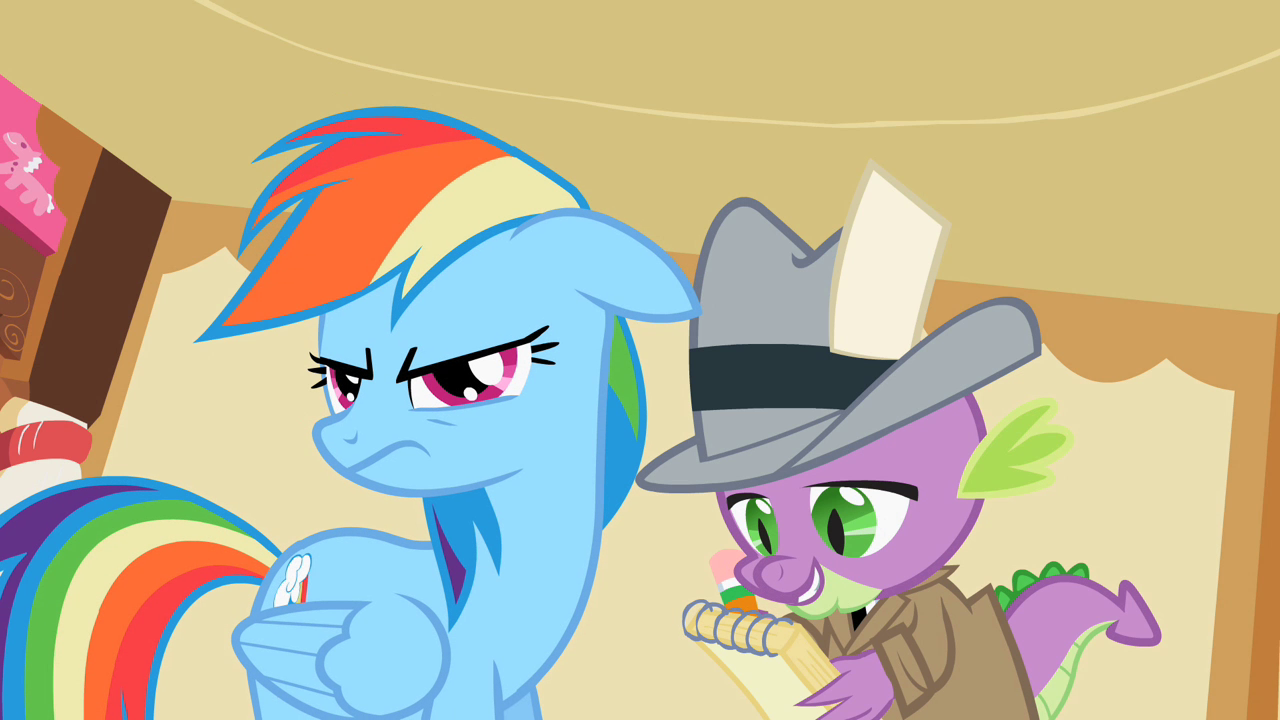 Drawn my little pony ear Dash png  Dash S2E8