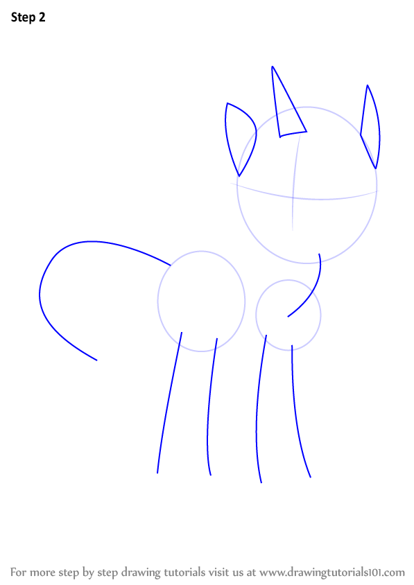Drawn my little pony ear Outlines neck Pony: legs to