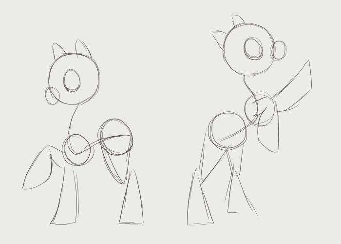 Drawn my little pony ear Also eyes top ponies the