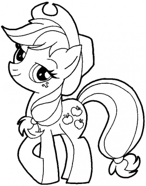 Drawn my little pony easy My step Apple How How