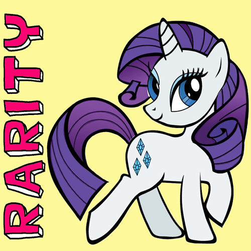 Drawn my little pony easy Little by is How Little