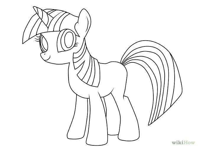 Drawn simple mlp Little easy my drawing Google