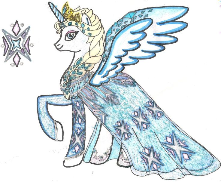 Drawn my little pony elsa Deviantart images @ FiM by