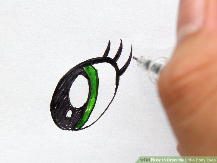 Drawn my little pony eye 7 Draw Draw Eyes Eyes