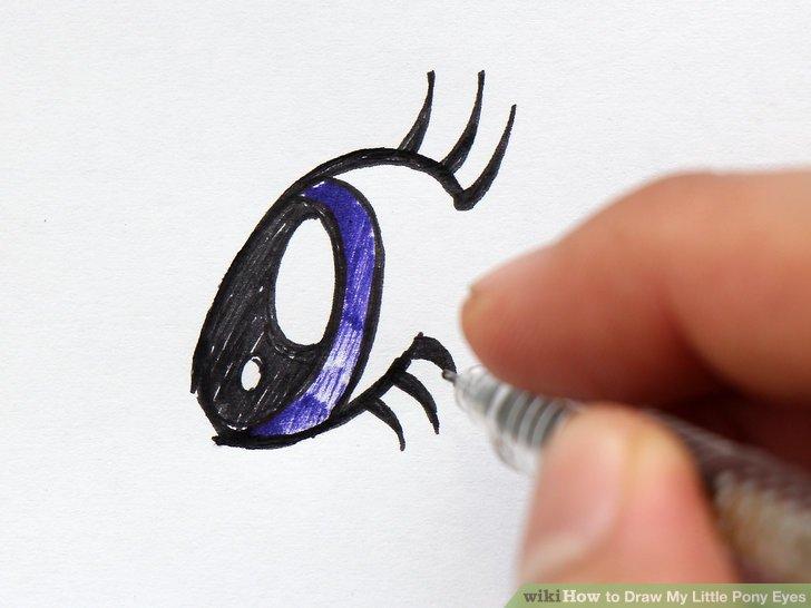 Drawn my little pony eye 4 Draw Draw Eyes Eyes