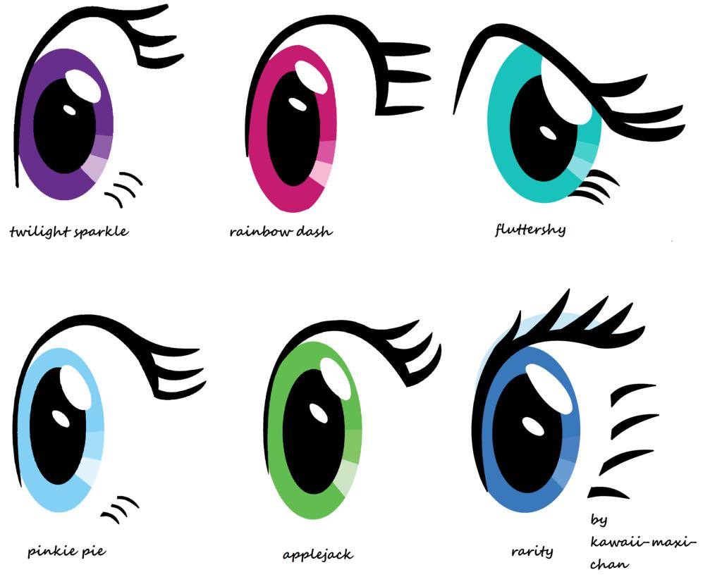 Drawn my little pony eye Chan maxi Little Pony kawaii